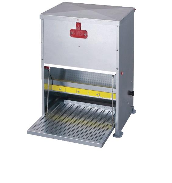 Futterautomat mit Trittklappe für Hühner 17 Liter - Qualität von HORIZONT